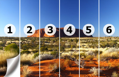 Fotobehang Australië, Ayers rock   nr 204