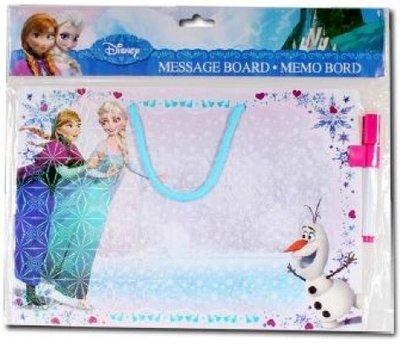 Frozen memo bord
