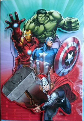 The Avengers wenkaart