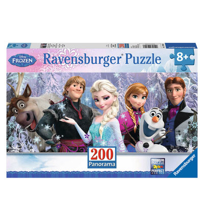 Disney Frozen Panorama Puzzel, 200st.