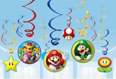 Super Mario plafond decoratie