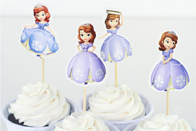 Sofia the First cocktailprikkers 1
