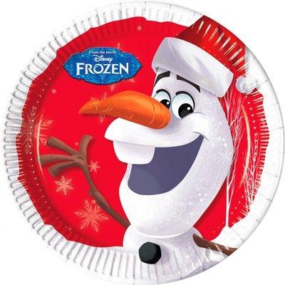Frozen kartonnen bordjes