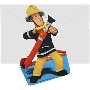 Brandweerman Sam uitnodigingen