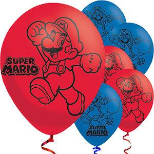 Super Mario Bros ballonnen