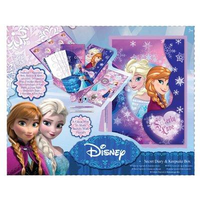 Frozen geheim dagboek met herinneringsdoos