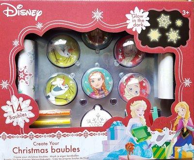 Frozen maak je eigen kerstballen