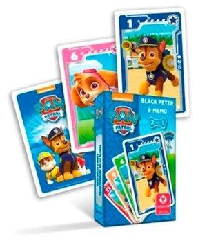 Paw Patrol 2 in 1 kaartspel ( zwarte pieten en memo)