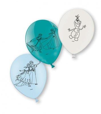 Frozen ballonnen, 6 st