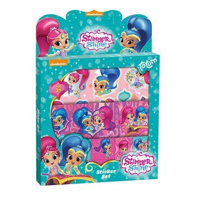 Shimmer & Shine stickerset.