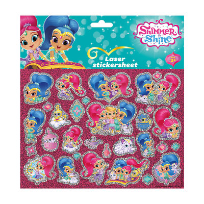 Shimmer & Shine Laser Stickers