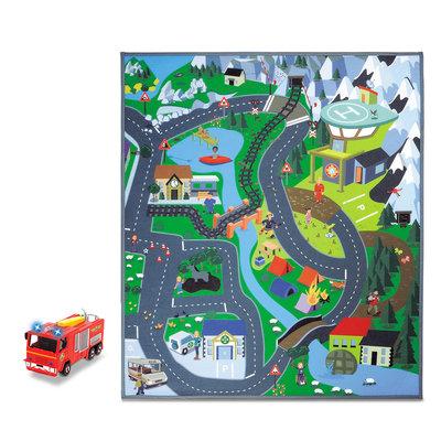 Brandweerman Sam Speelmat Platteland