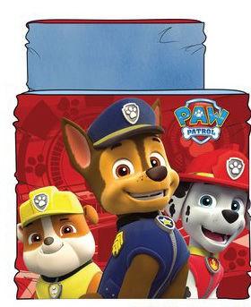 Paw Patrol sjaal blauw