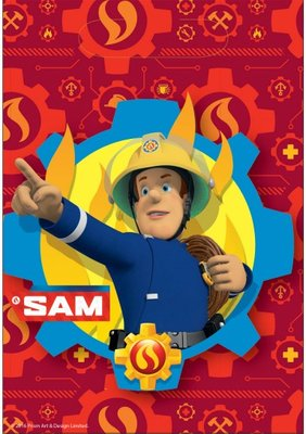 Brandweerman Sam uitdeelzakjes, 8st