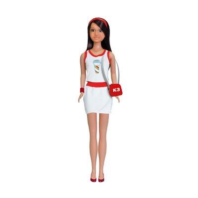 K3 jurk, outfit voor tienerpop
