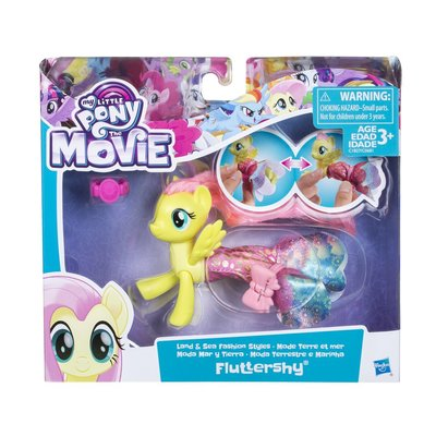 My little pony Land and sea Fluttershy