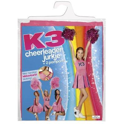 K3 verkleedjurk cheerleader