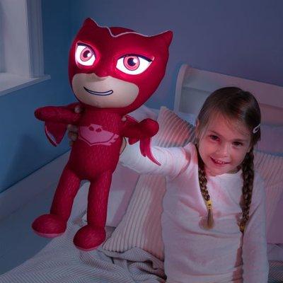 PJ Masks Go glow knuffel ; Owlette