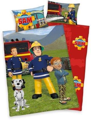 Brandweerman Sam dekbedovertrek junior