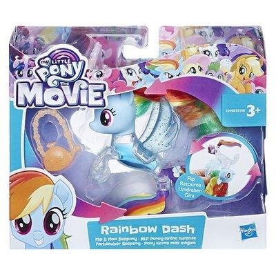 My Little Pony Flip en Flow zeepony Rainbow Dash
