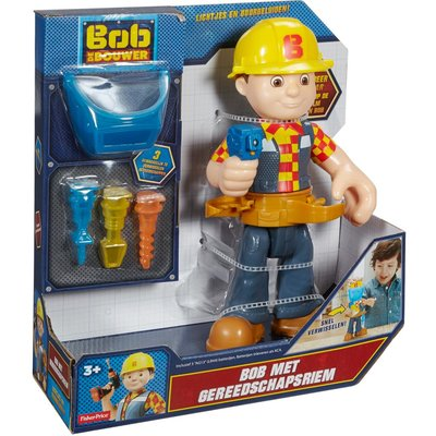 Bob de bouwer met gereedschapsriem