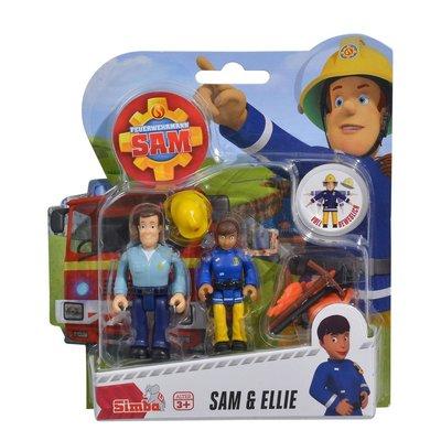 Brandweerman Sam poppetjes, Sam en Ellie