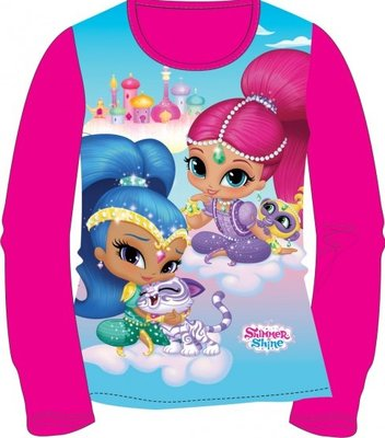 Shimmer and Shine shirt / longsleeve roze