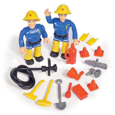 Brandweerman Sam Jupiter met speelfiguren