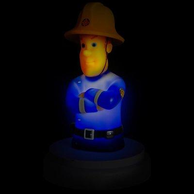 Brandweerman Sam nachtlamp