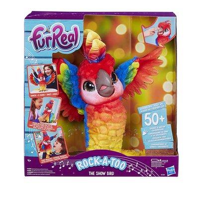 FurReal Friends showbizz vogel Rock-A-too