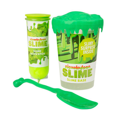 Maak je eigen slijm Nickelodeon groen