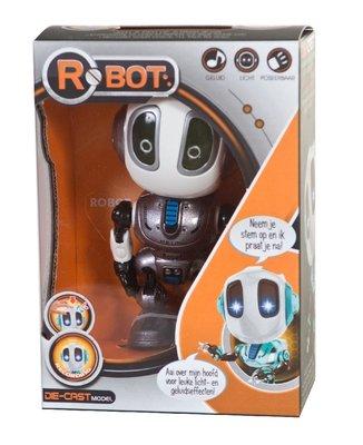 Talking Robot grijs