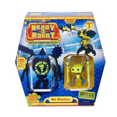 Ready2Robot bot blasters, serie 1 geel