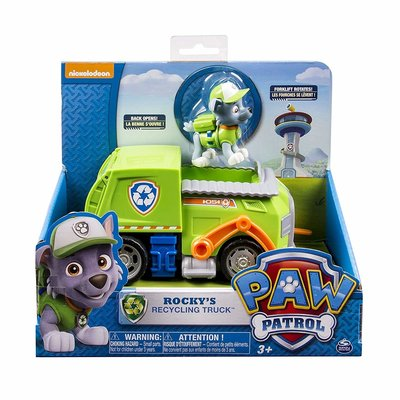 Paw Patrol Rocky's transforming Recycle Truck