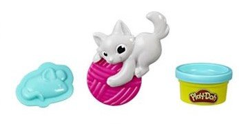 Play Doh vormpjes en gereedschap Kitty