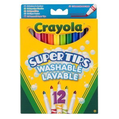Viltstiften Crayola met superpunt, 12 st