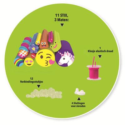Cutie Stix Navulset: Emoticons