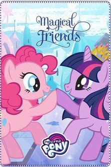 My little pony fleece deken : Magical Friends