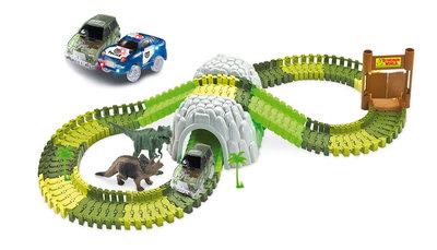 Magic Traxx Dinopark, 374-delig