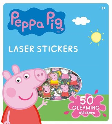 Peppa Pig laser stickers