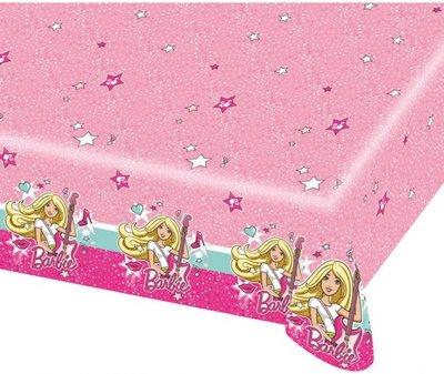 Barbie tafelkleed muziek