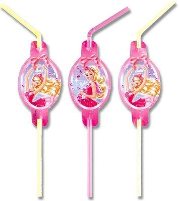 Barbie rietjes, 8 st