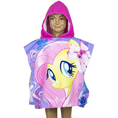 My little pony poncho, dubbele print
