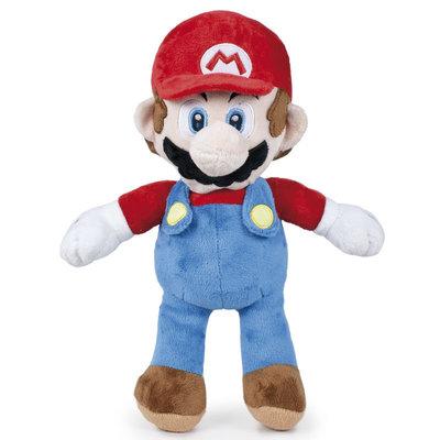 Super Mario Bros knuffel Mario 20 cm