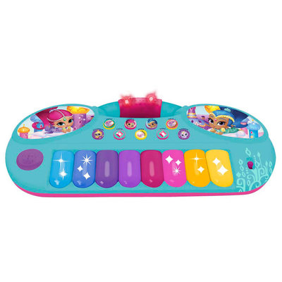 Shimmer and Shine keyboard en microfoon