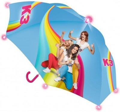 K3 Paraplu met glitter en lichtjes