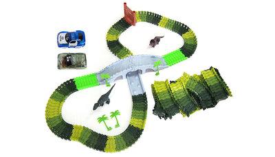 Magic Traxx Dinopark, 374-delig met brug