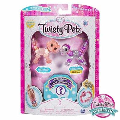 Twisty petz 3 pack Tickles Tiger, Pixiedust Puppy en ?