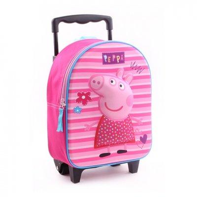 Peppa Pig 3D rugzak met trolley