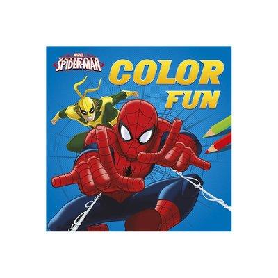 Spiderman kleurboek